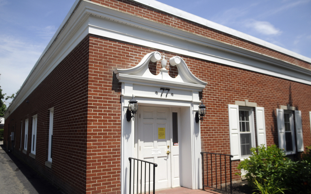 The new site of the Kennebec Country Registry of Deeds at 77 Winthrop St. in Augusta on Monday.