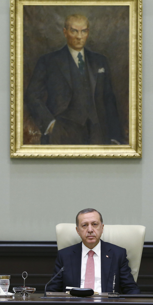 The government of Turkish President Recep Tayyip Erdogan is