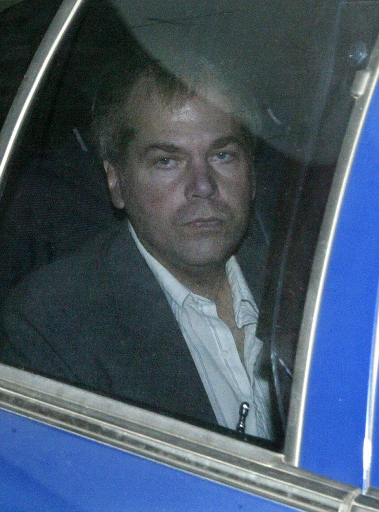Two lawmen wounded in the 1981 assassination attempt don't agree with the imminent release of John Hinckley Jr., shown in 2003.