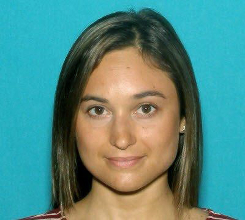 This undated driver's license photo released by the Worcester County District Attorney's Office shows Vanessa Marcotte, of New York, whose body was found Sunday night in the woods about a half-mile from her mother's home in the town of Princeton, Mass., about 40 miles west of Boston.