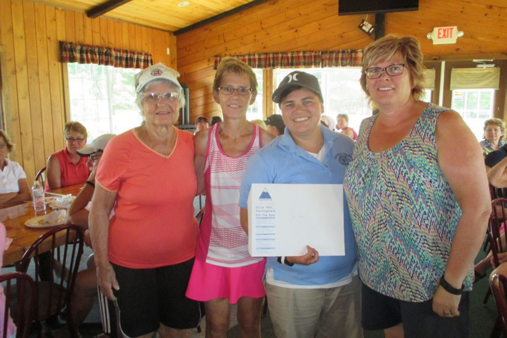 The Fourth annual Ladies Golf Tournament to help breast cancer patients at the Martha B. Webber Breast Cancer Center  recently was held. More than $4,800 was raise. The winning team, from left, included Louise Parker, Sue Clary, Ashlee Quirrion and Pam Doyen.