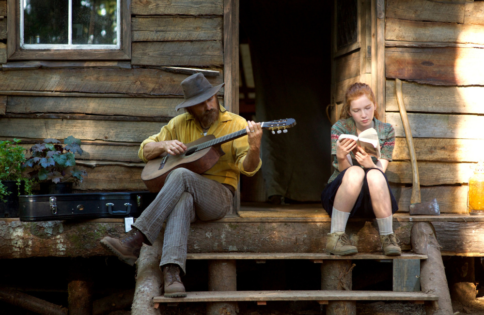 Viggo Mortensen and Annalise Basso appear in a scene from
