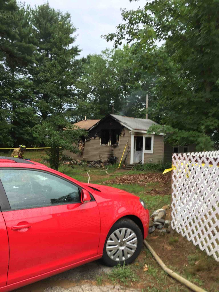 The body of Jon Kellar was found after a fire in his home on River Street in Berwick on Monday.