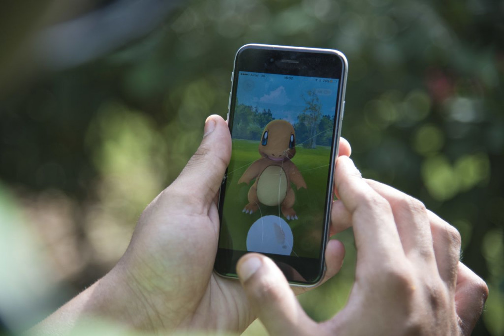 A Pokemon Go player is trying to catch Charmander, one of Pokemon's most iconic creature. New York Gov. Andrew Cuomo is concerned that