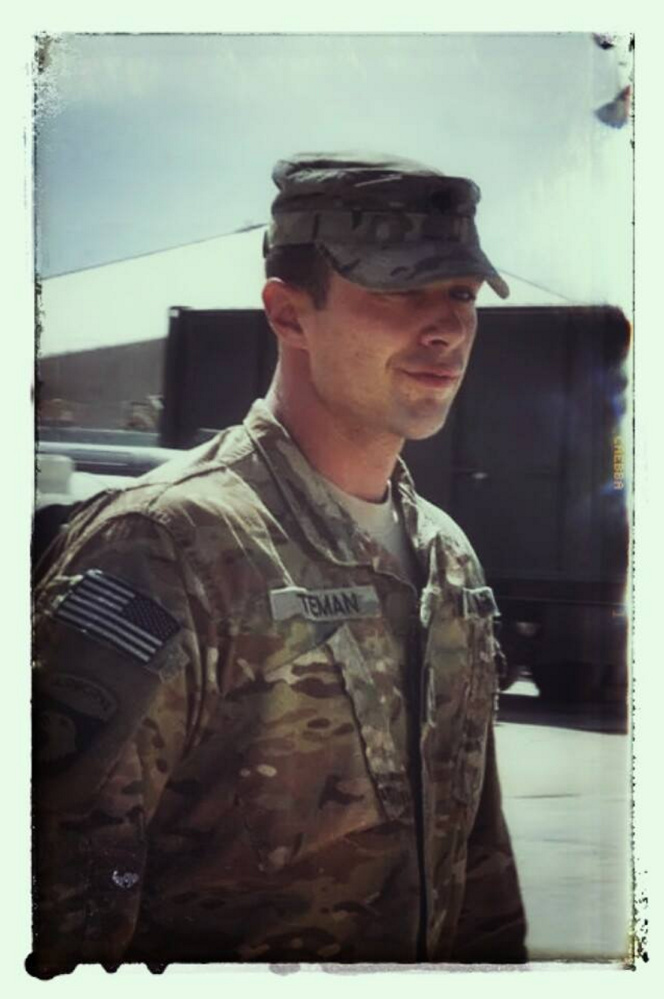 Luc Tieman, a U.S. Army veteran, is seen in this photo posted in September 2014 on the Facebook page of his wife, Valerie Tieman, whom he is accused of killing.