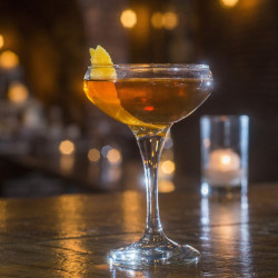Bramhall Pub's Hanky Panky, a gin and vermouth cocktail dating back to a 1925 London.