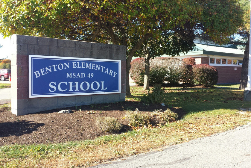 Initial test results showed high levels of lead in water at Benton Elementary School, prompting the school to stop using water in the school for drinking or cooking, but lower levels have been detected since then. Officials think brass piping is to blame for the initial higher readings.