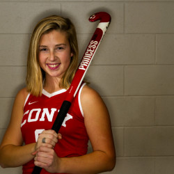 Cony senior Delaney Keithley is the Kennebec Journal Field Hockey Player of the Year.