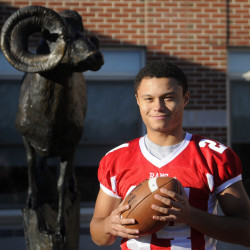 Jordan Roddy is the Kennebec Journal Football Player of the Year.