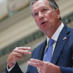 Ohio Gov. John Kasich has said he favored moderate restrictions on abortion with exceptions of rape, incest and life of the mother.