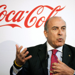 Muhtar Kent, 64, has been Coca-Cola's CEO for more than eight years, first joining the company nearly 40 years ago. After stepping down next year, he'll stay on as chairman of the board.