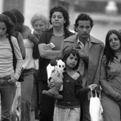 Refugees arrive at Fort Indiantown Gap, Pennsylvania, in May of 1980. The current influx of Cuban refugees could rival the numbers that came to the U.S. in the Mariel Boat Lift.