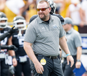 Old Dominion University offensive coordinator Brian Scott, a Waterville native and for University of Maine quarterback, has helped lead the Monarchs to their first FBS bowl bid this season.