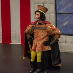 James Greenwood as Lord Farquaad.