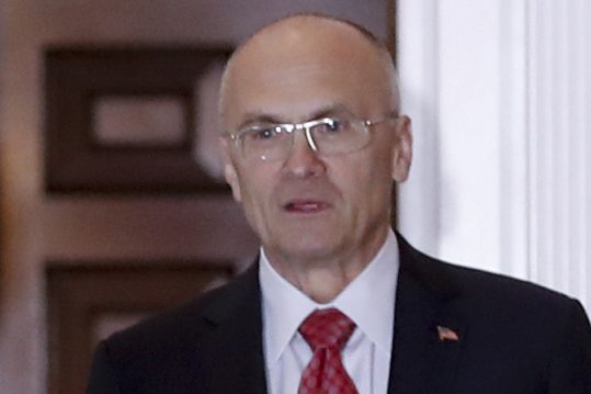 Andy Puzder's nomination to be labor secretary got support from the Maine Restaurant Association, but the chair of the association's board says the directors never voted on it.