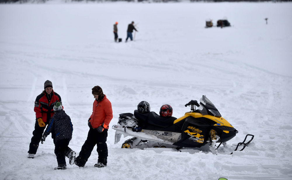 Albion lions host fifth annual ice fishing derby for Maine ice fishing derbies