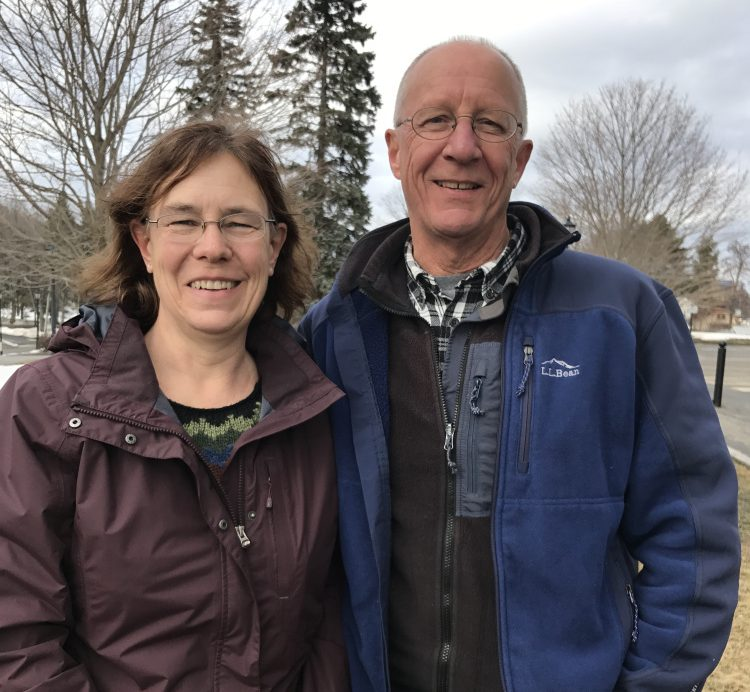 Sarah and Phil Groman traveled to Augusta Saturday to take a stand supporting the Affordable Care Act, also known as Obamacare, that provides insurance for their 27-year-old son and 80,000 people in Maine.