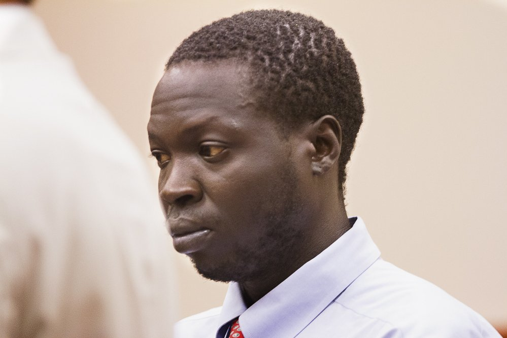 Gang Deng Majok of Portland was sentenced Friday to 30 years in prison for killing Treyjon Arsenault, 19, in 2015.