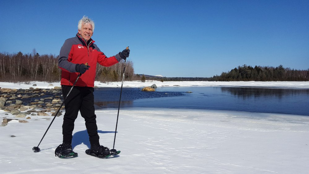Walter Graff leads the Appalachian Mountain Club of Maine's Maine Woods Initiative, which has expanded wilderness access just east of Moosehead Lake.
