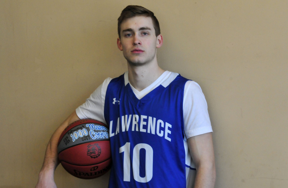 Lawrence senior Mason Cooper is the Morning Sentinel Boys Basketball Player of the Year.