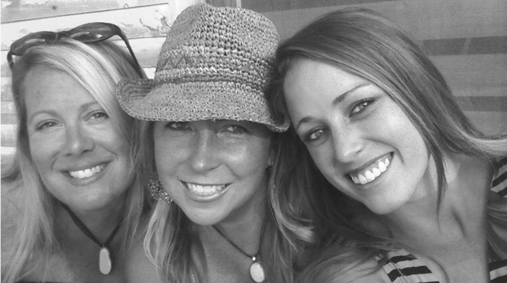 Hillary McLellan, right, was photographed last summer with Carrye Castleman-Ross, left, and Christine Dombrosky. Castleman-Ross owns the Depot Street Tap House in Bridgton, where McLellan was a beloved employee.