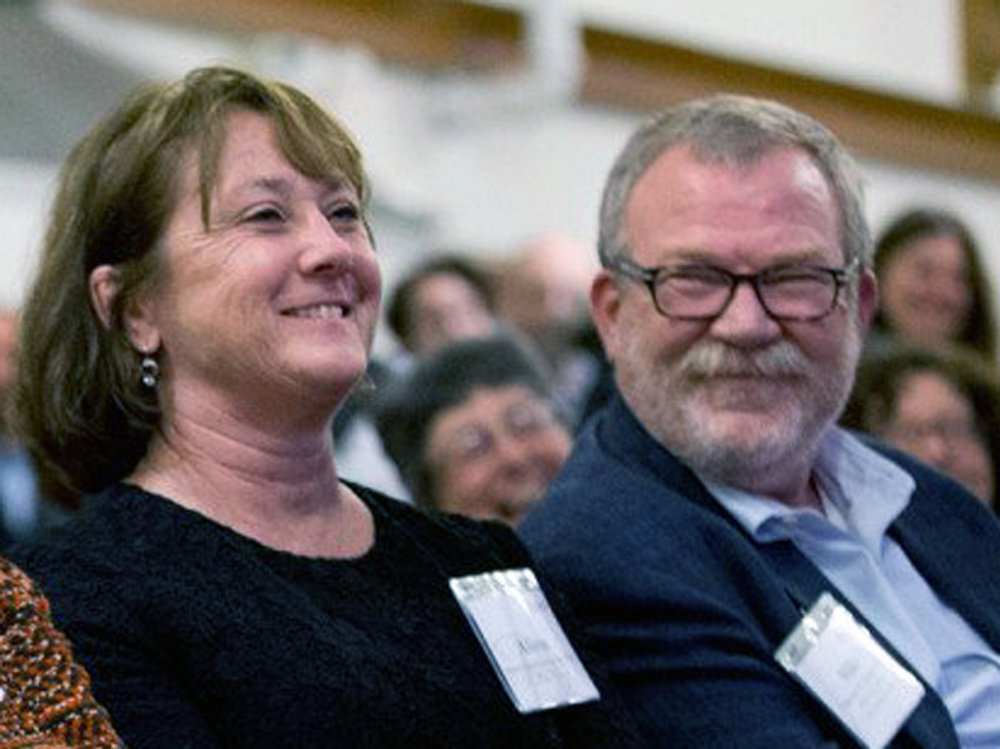 Alison Grott Bonney and Michael Bonney, 1980 Bates College graduates, gave the college $10 million last year, and now have donated a record $50 million.