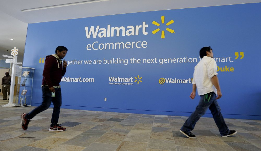 Wal-Mart's acquisition of Jet.com is accelerating its progress in e-commerce as it works to narrow the gap with online leader Amazon. But Amazon keeps innovating, too, such as with its experimental Amazon Go convenience stores, currently open only to its employees in Seattle.