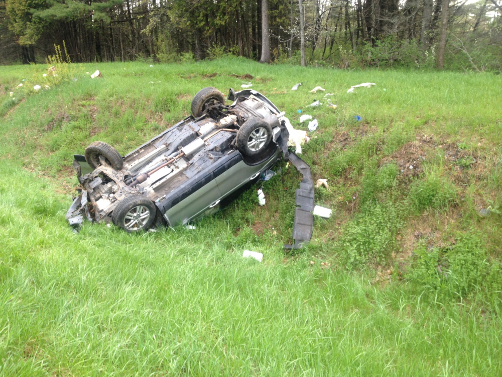 One person is dead following a single-vehicle rollover on Interstate 95 in Benton.