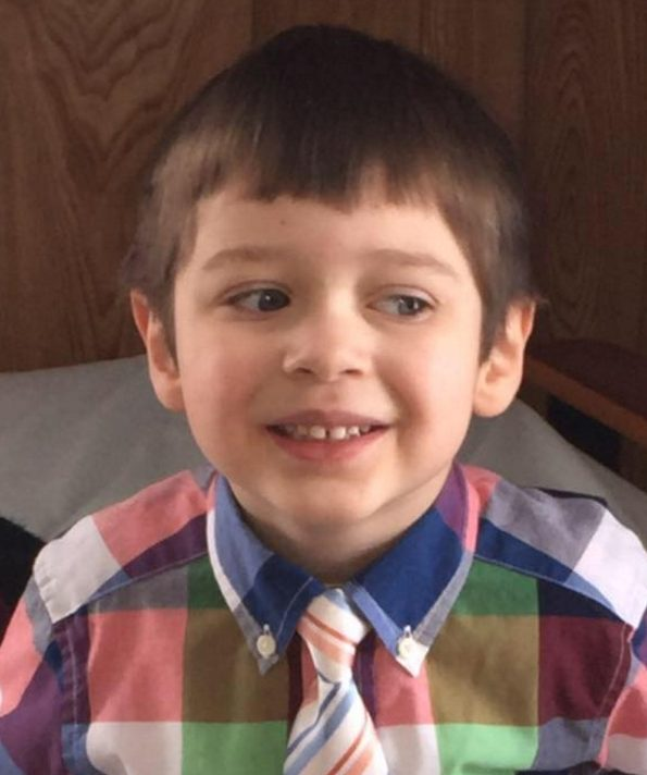 William Egold, 5, died following a canoe accident Monday night at Outlet Stream in Vassalboro.