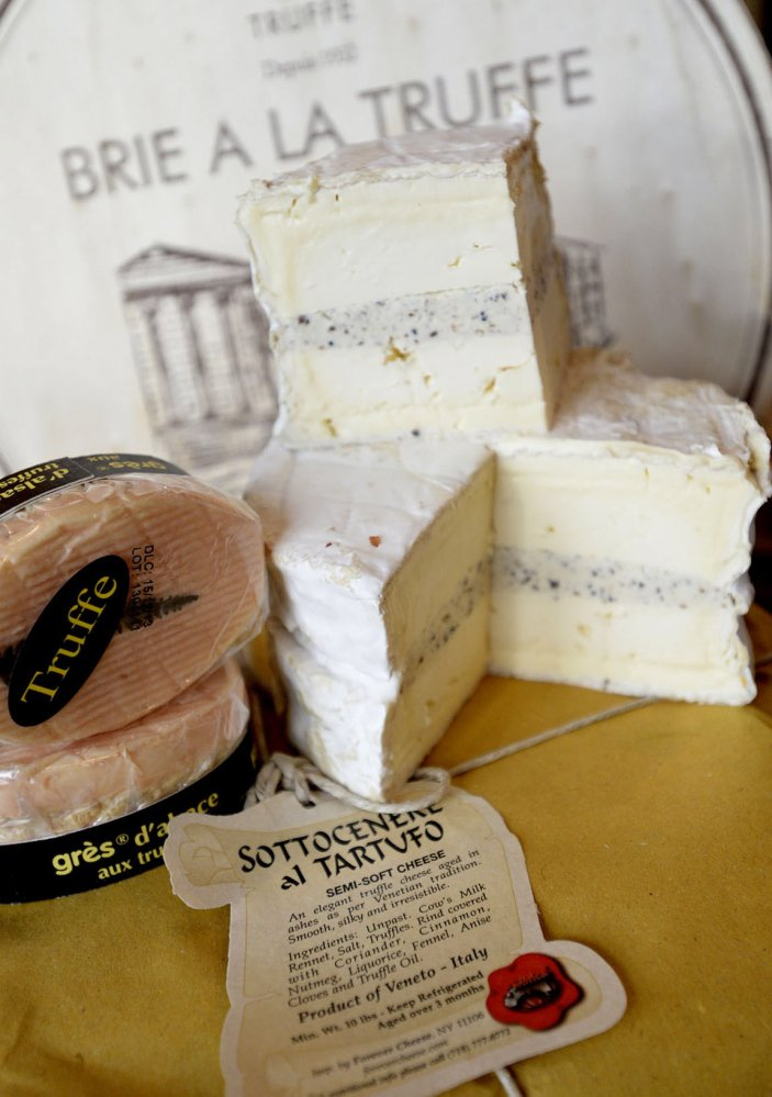 A selection from The Cheese Iron in Scarborough or gourmet sandwiches from a specialty shop make an impromtu picnic special.