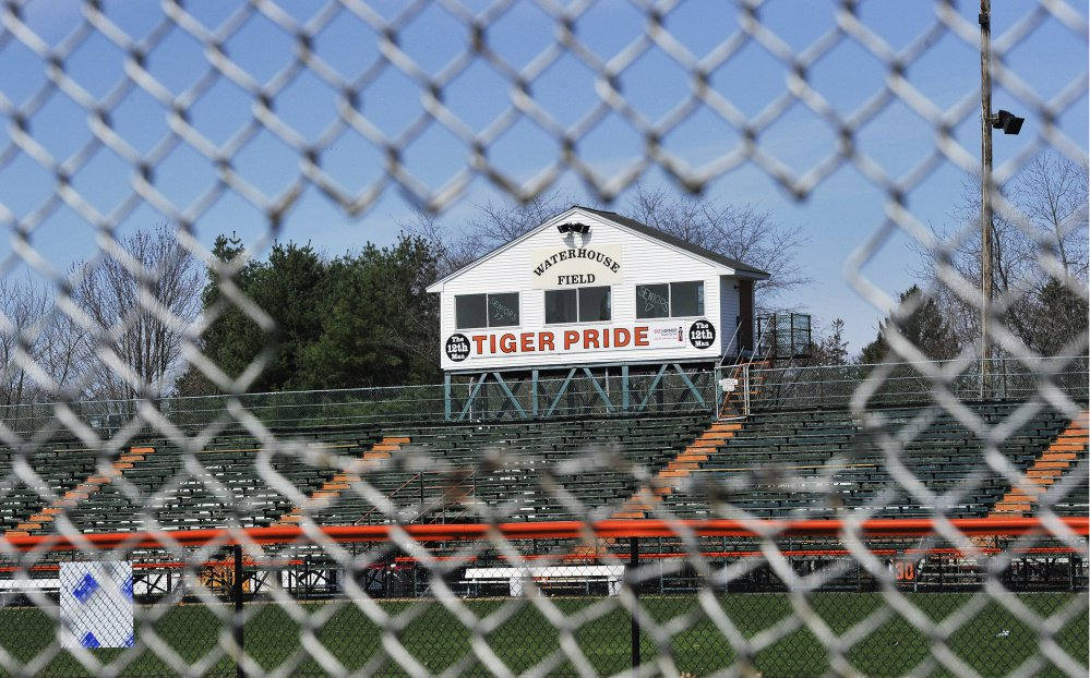 The first phase of repairs at Waterhouse Field would total about $840,000 and include bleachers for 2,000 people.