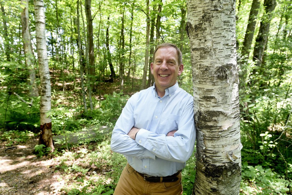 Andy Beahm is the new executive director of Maine Audubon. He has served as interim director since January and worked for L.L. Bean for 34 years.