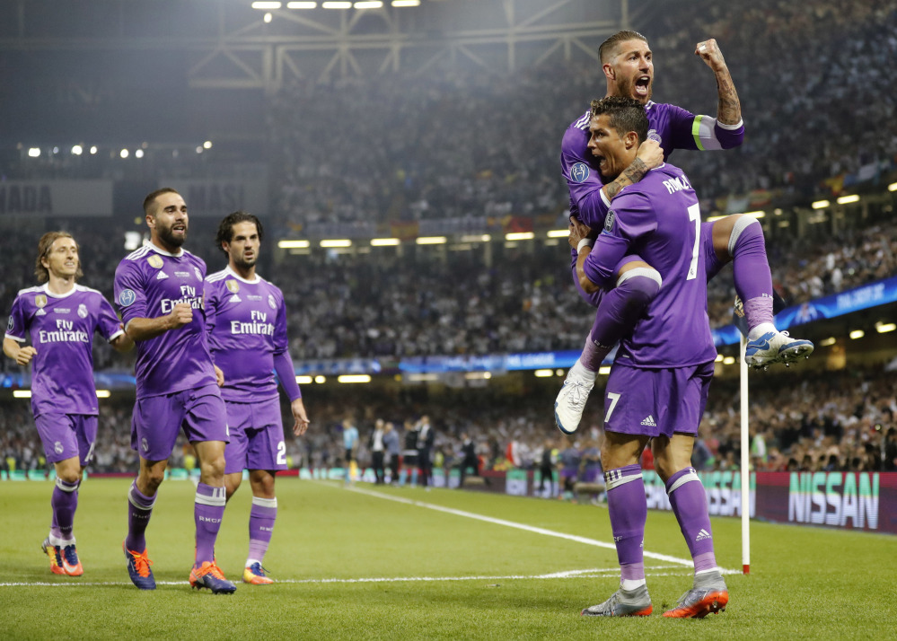 Adoring Madrid fans demand Ballon d'Or for hero Ronaldo