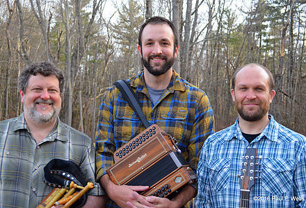 Portland's Irish Trad Trio Boghat will perform Thursday June 22, at Stonington Opera House.
