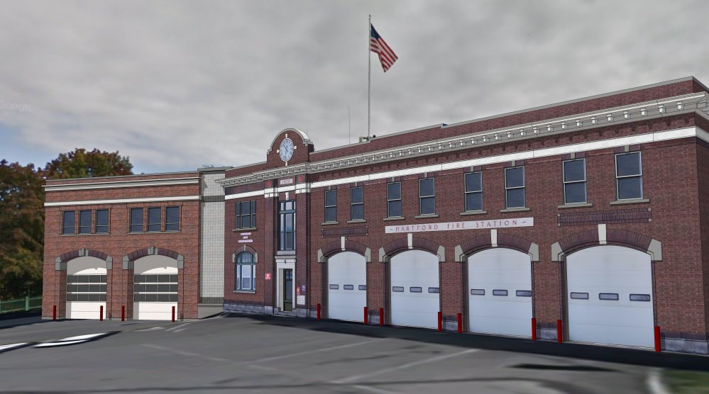 An addition to the Hartford Fire Station in Augusta would help modernize the station in the city's downtown.
