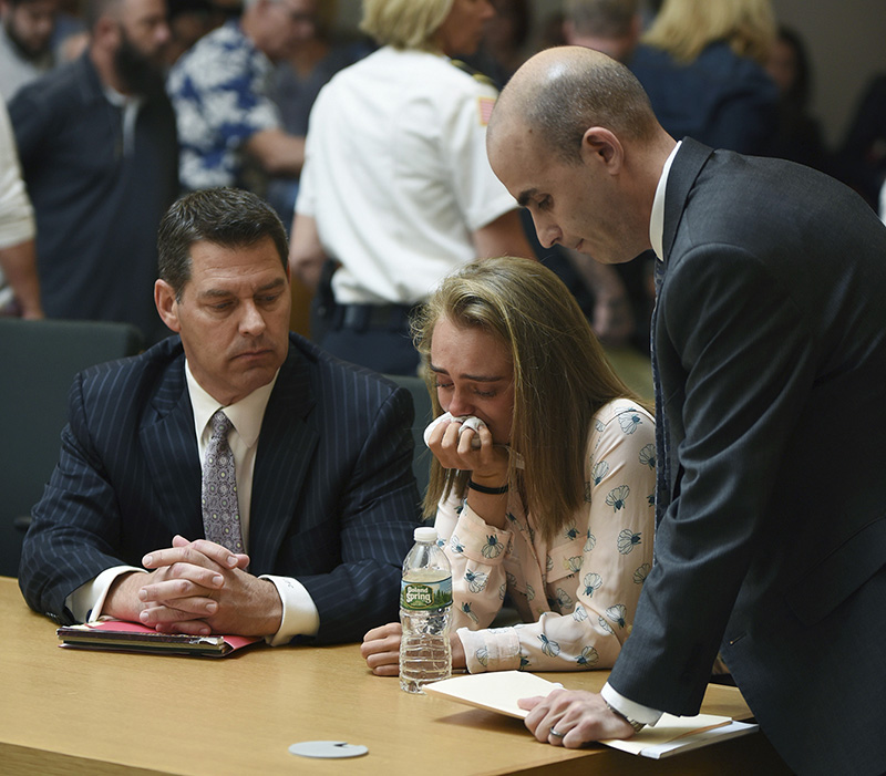 Watch Conrad Roy's father react to Michelle Carter's guilty verdict