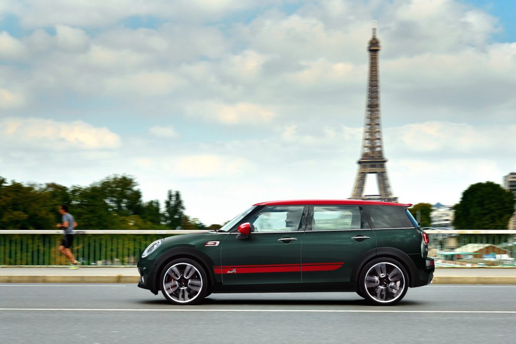 2017 Mini John Cooper Works Clubman All4.