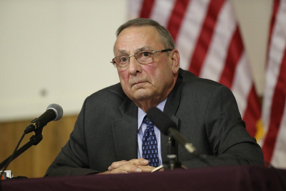 Gov. Paul LePage told a talk show that he vetoed two bills because