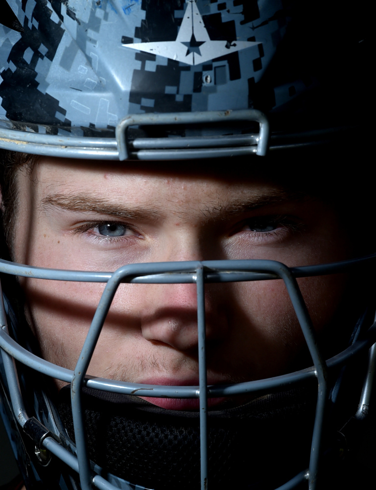 Nokomis catcher Zach Hartsgrove is the Morning Sentinel Baseball Player of the Year.