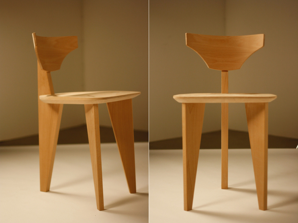 Wood work by Vaishu Ilankambam, who is a recent attendee of the Center for Furniture Craftsmanship in Rockland.