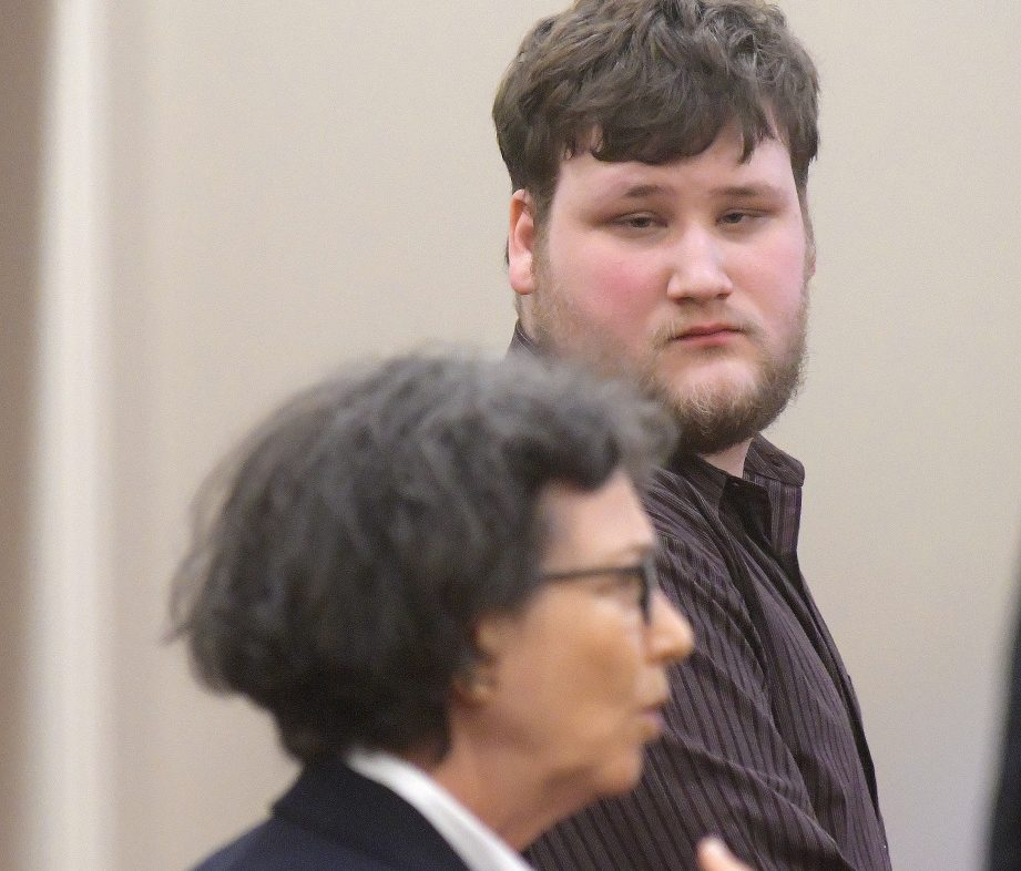 Travis Gerrier, 23, of Belgrade, entered a conditional plea of guilty Monday to charges that he sexually assaulted an 11-year-old in June 2015. He is represented by attorney Sherry Tash.