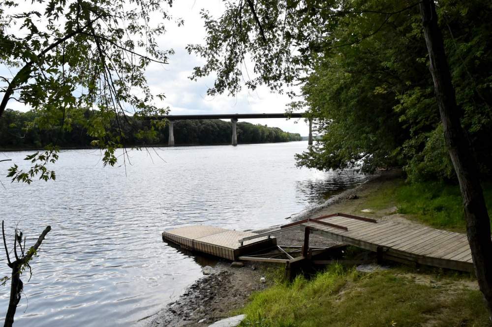 The Kennebec River boat launch near the Waterville water treatment plant apparently was the preferred nude sunbathing spot for an elderly man in Waterville on Friday.