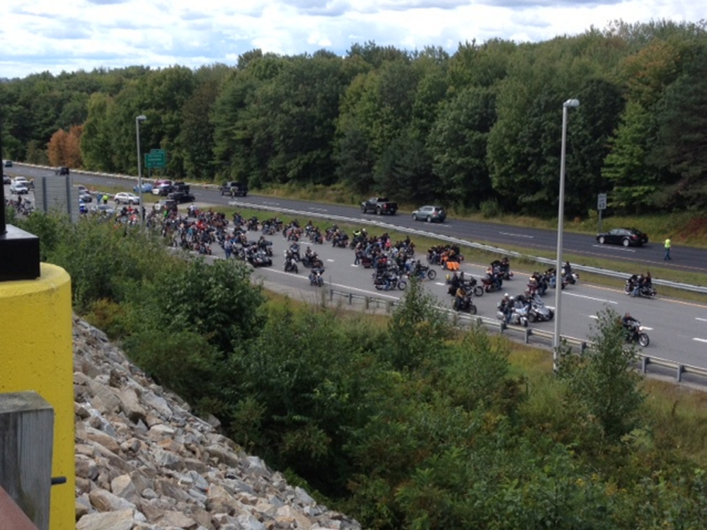 Two motorcyclists were killed Sunday during the United Bikers of Maine toy run when an accident occurred on I-95 northbound in Augusta.