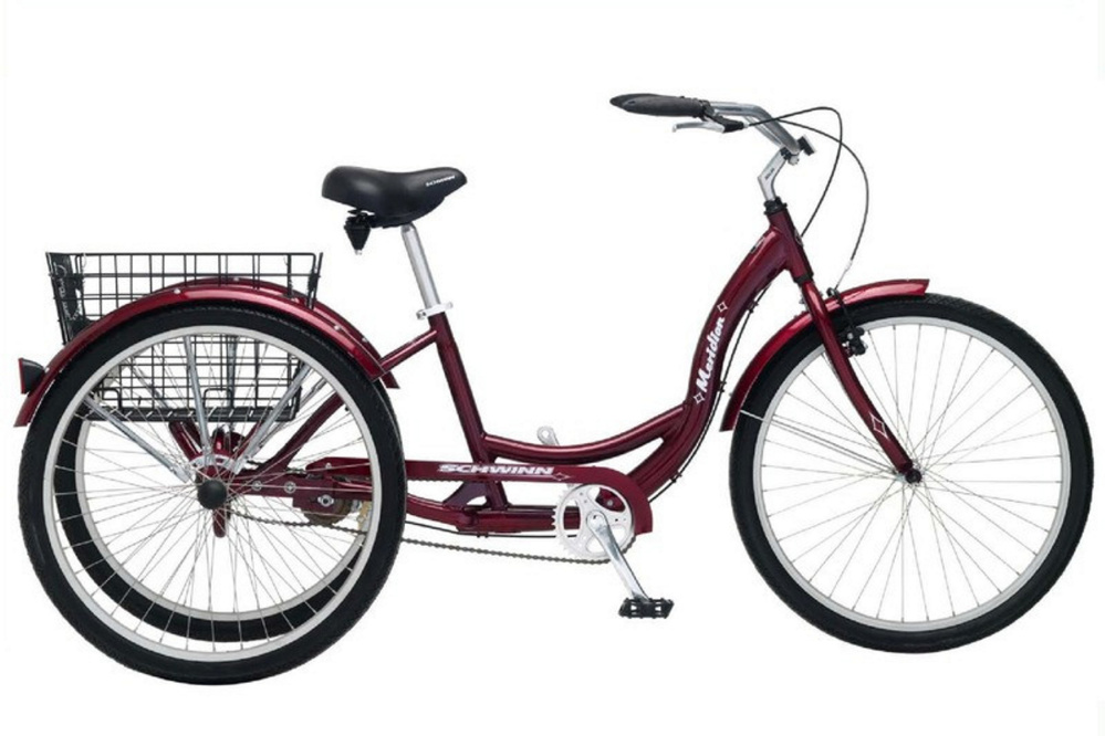 A tricycle with a delivery basket, like this one, is on the minds of people raising money for Morning Sentinel newspaper carrier Tom Floyd, of Skowhegan, whose delivery bike was stolen in August.