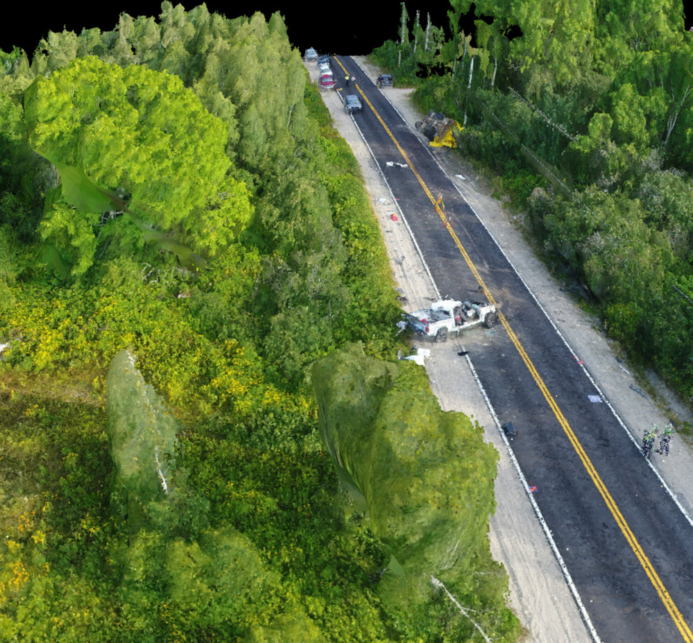 Maine State Police Use Drones To Investigate Crash Sites
