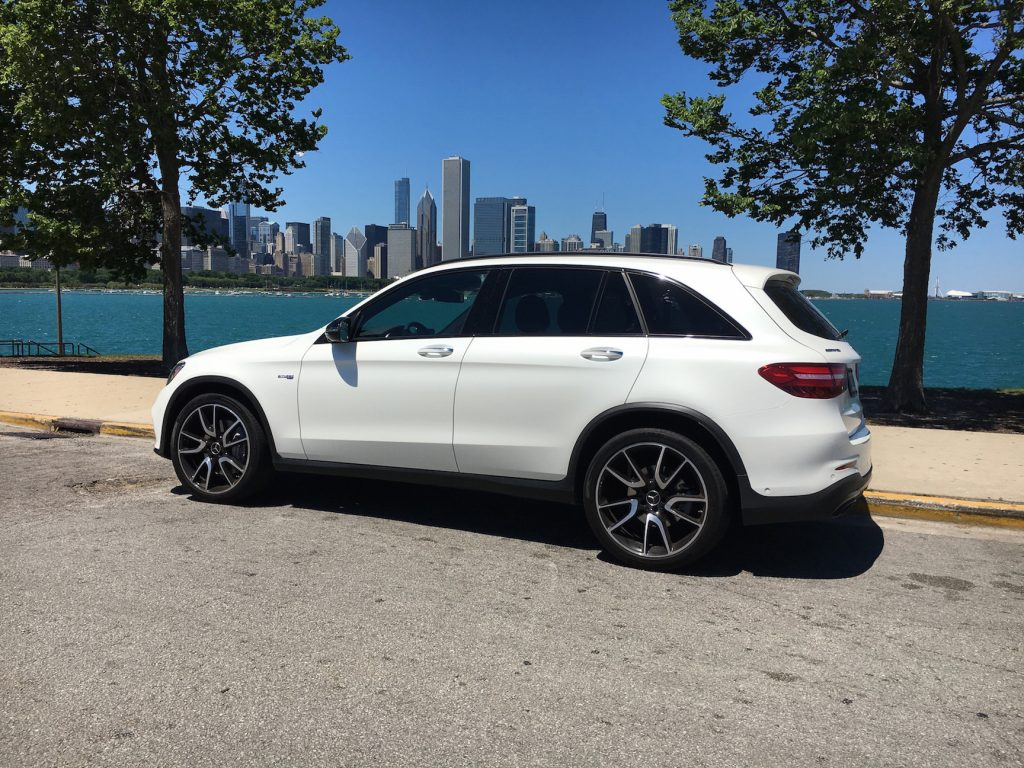 The 2017 Mercedes-AMG GLC43 is the first Mercedes-Benz compact crossover to get the AMG performance treatment.