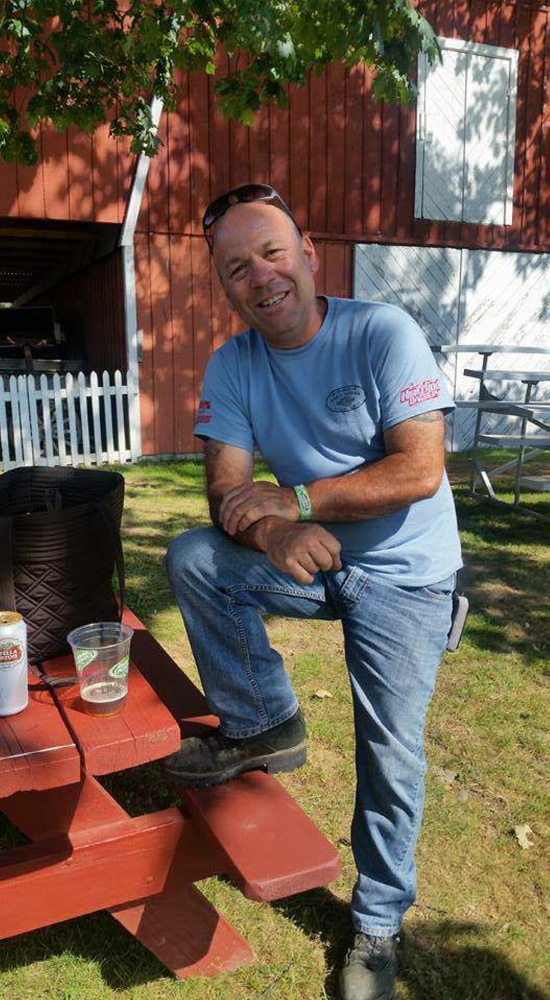 James Bickford, 51, of Pittston, seen in this photo contributed by his family, died following a motorcycle crash in Augusta on Sunday.