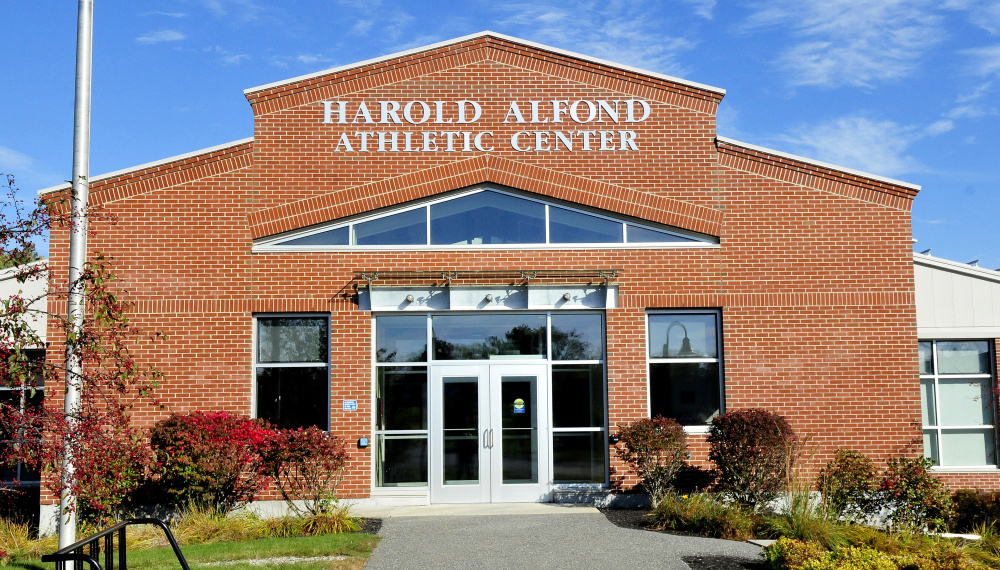 The Harold Alfond Athletic Center at Thomas College in Waterville is the site for this years voting on Nov. 7 for Waterville residents now that the American Legion hall is no longer available.
