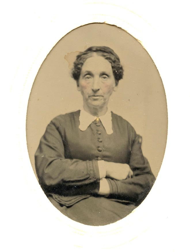 Sarah Lennan Turner and her two children were stranded in Whitefield, when her husband Samuel B. Turner left to seek California gold in 1852.