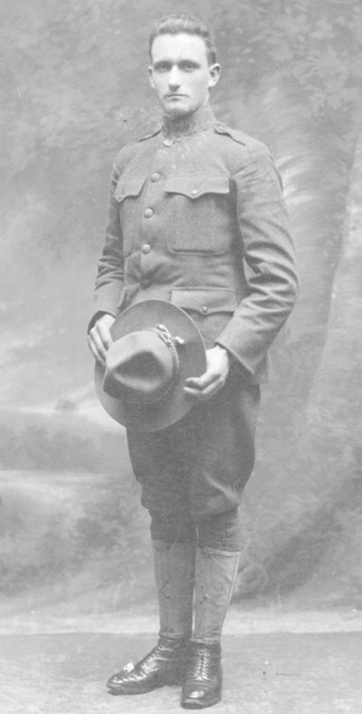 Contributed photo Adin Turner of Jefferson was one of 48 local service people who served during World War I. Author Jason Libby will talk about those from Jefferson with connections to the war at the Jefferson Historical Society meeting on Tuesday, Oct. 17. Turner served in France.